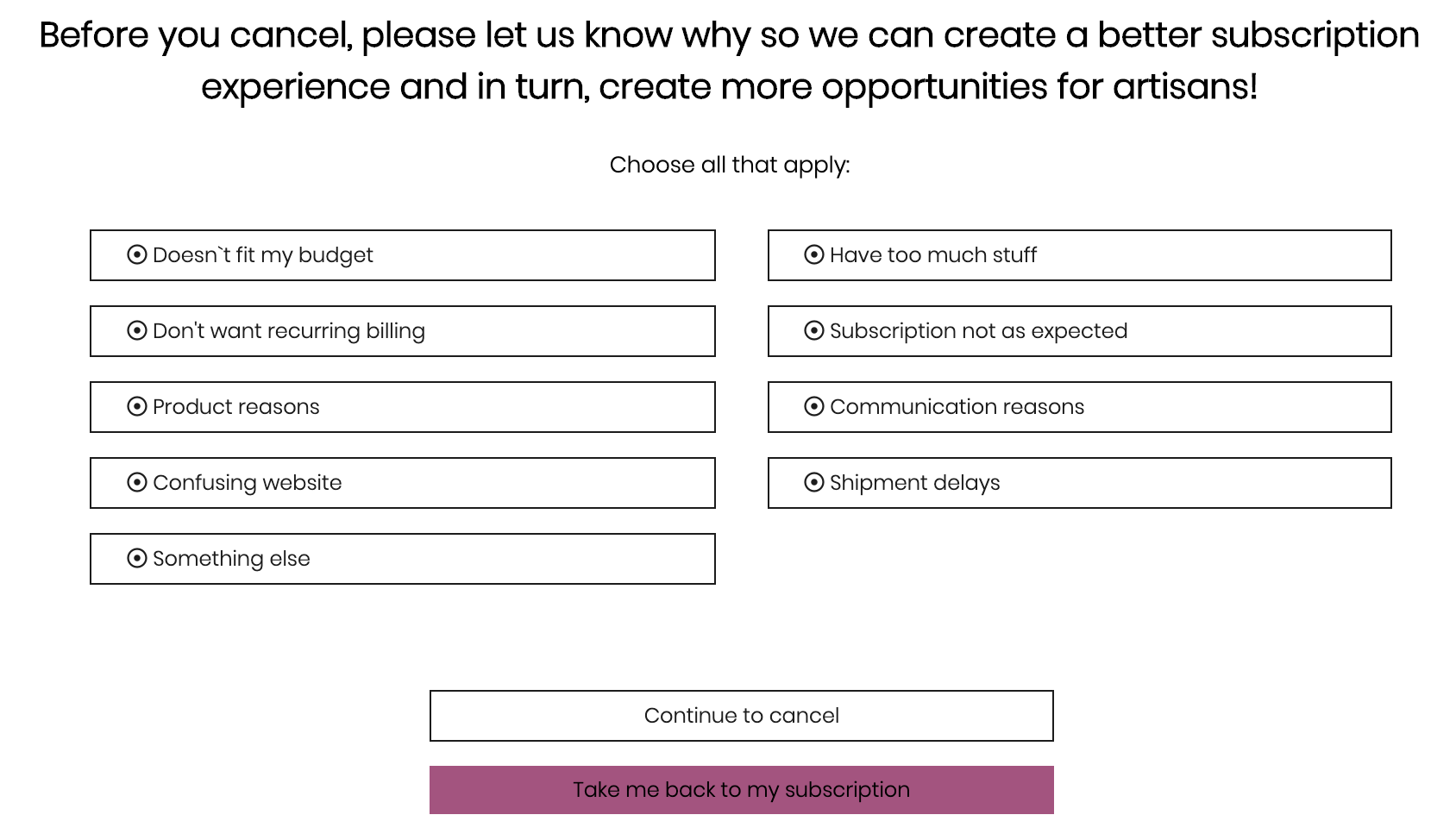 How do I cancel or unsubscribe? – How can we help you?
